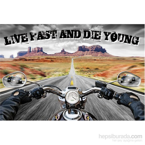 Live Fast Die Young Maxi Poster