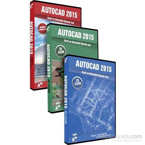 AutoCAD 2015 Sesli ve Görüntülü Öğretim Seti