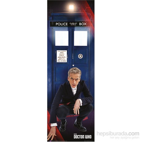 New Doctor & Tardis Door Poster