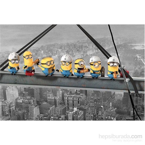 Maxi Poster Despicable Me Minions Lunch On A Skyscraper