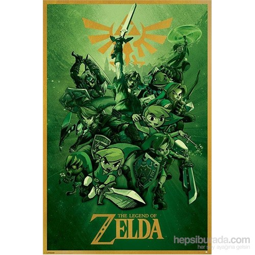 Maxi Poster The Legend Of Zelda (Link)