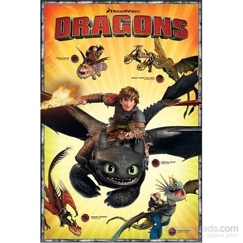 Maxi Poster Dragons Characters