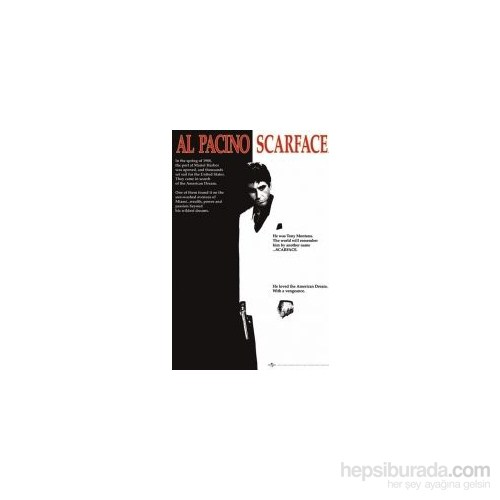 Maxi Poster Scarface Movie One Sheet