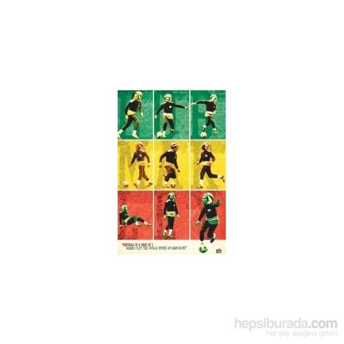 Maxi Poster Bob Marley Football