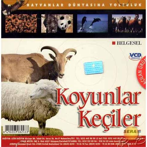 Hayvanlar Dünyasına Yolculuk (Koyunlar-keçiler) ( VCD )