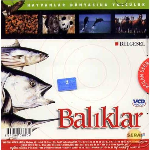 Hayvanlar Dünyasına Yolculuk (Balıklar) ( VCD )