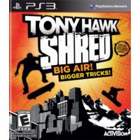 Tony Hawk Shred Big Air Bigger Tricks Ps3