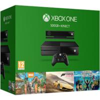 Xbox One 500 Gb + Kinect Sensor + Forza Horizon 2+ KS Rivals + Zooo Tycoon