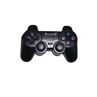 Kontorland PS3/ PS2/ PC USB 2.4G Wireless Dual Shock Game Controller