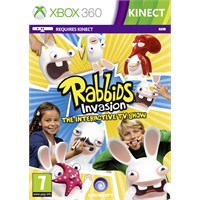 Ubisoft Xbox 360 Kınect Rabbıds Invasıon The Interactıve Tv Show