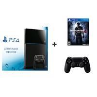 Sony Playstation 4 1 Tb Ultimate Player Edition Oyun Konsolu + Uncharted 4 ( Türkçe Dublaj ) + 2. Kol