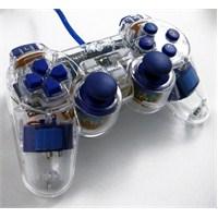 Trilogic GP810 Analog LED USB PC Uyumlu Gamepad (Mavi)