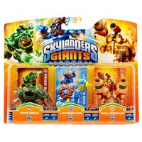 Skylanders Giants Prism Break+ Lightening Rod+ Dril