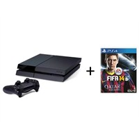 Sony Playstation 4 500 Gb Oyun Konsolu + Fifa 14 PS4 ( Sony Eurasia Garantili )