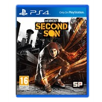 Sony Playstation 4 500 Gb Oyun Konsolu + İnfamous Second Son PS4  ( Sony Eurasia Garantili )