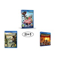Uncharted: Golden Abyss & Little Big Planet & Resistance Burning Skies Ps Vita
