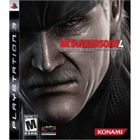 Metal Gear Solid 4 Guns Of The Patriots Ps3 Oyunu