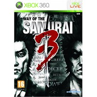 Sega Xbox 360 Way Of The Samuraı 3