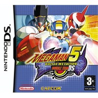 Capcom Ds Megaman 5 Battle Network Double Team