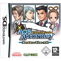 Capcom Ds Phoenıx Wrıght Ace Attorney Justıce For All