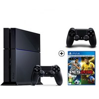 Sony Playstation 4 500Gb Oyun Konsolu + Pes 2016 + 2. Kol
