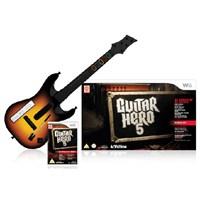 Guitar Hero 5 Gitar Bundle - Wii