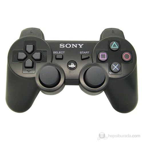 Sony Playstation 3 Titreşimli Kablosuz Kumanda/Kol (Joystick) Siyah (İthalatçı Garantili)