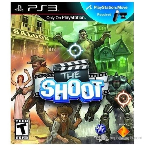 The Shoot/EXP PS3