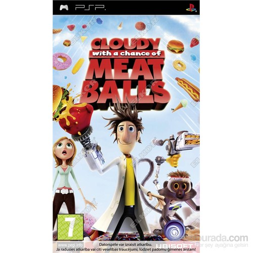 Cloudy With A Chance Of Meatball PSP