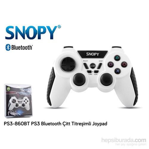 Snopy PS3-860BT PS3 Bluetooth Çitt Titreşimli Joypad