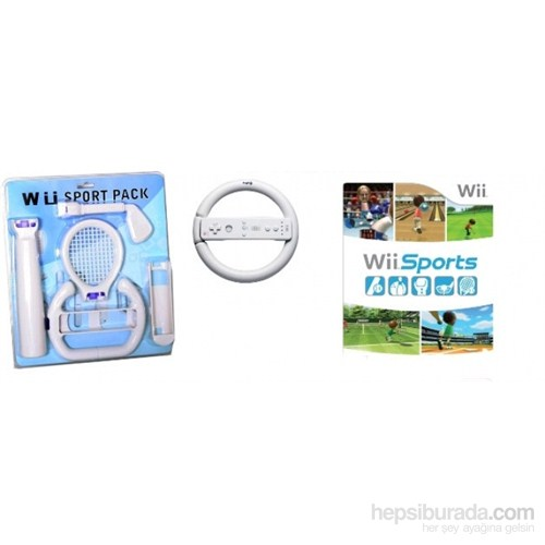 Snopy WII-LS-11000 WII Wii 5 in 1 Sports Kit Game Con