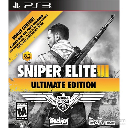 Sniper Elite 3 Iıı Ultimate Edition Ps3 Oyunu