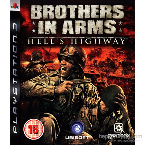 Brothers İn Arms Hell's Highway Ps3 Oyunu