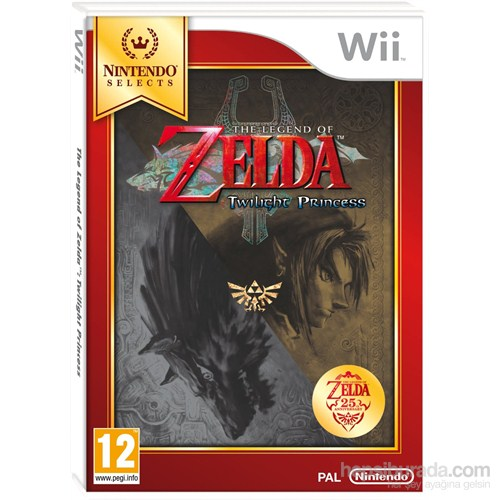 Nintendo Wii The Legend Of Zelda Twılıght Prıncess