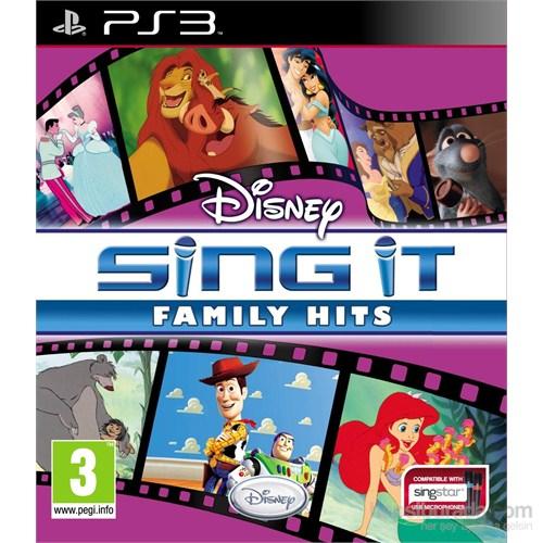 Disney Ps3 Disney Sıng It Famıly Hıts