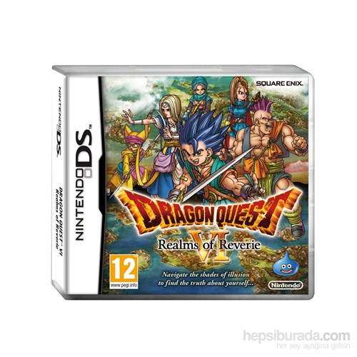 Square Enix Ds Dragon Quest Realms Of Reverıe Vı 6