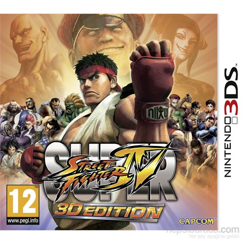 Capcom 3Ds Super Street Fıghter 4