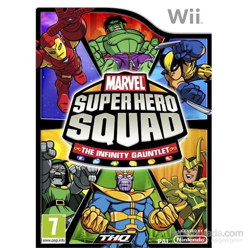 Thq Wii Marvel Super Hero Squad The Infınıty Gauntlet