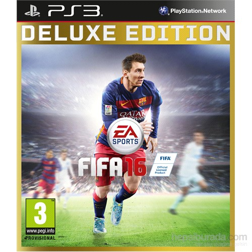 Fifa 16 PS3 Deluxe Edition