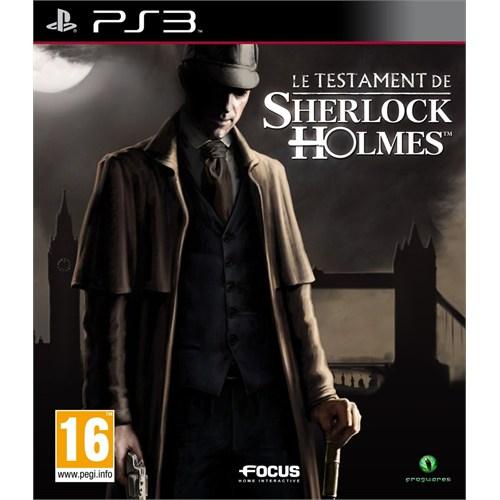 Focus The Testament Of Sherlock Holmes Ps3 Oyun