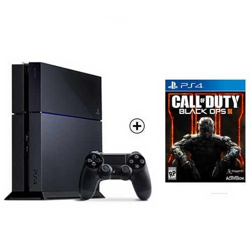 Sony Playstation 4 500Gb Konsol + Call Of Duty: Black Ops 3