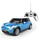 Mini Cooper S Uzaktan Kumandalı Araba 1:24 / Mavi