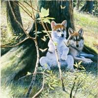 Sunsout Puzzle Spring Pups (1000 Parça)