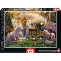Educa 500 Parça Puzzle Unicorn Valley of the Waterfalls
