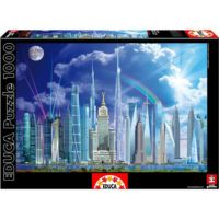 Educa 1000 Parça Puzzle Tall Buildings