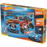 Kırkpapuç Hot Wheels Drive 2 Win Çocuk Puzzle