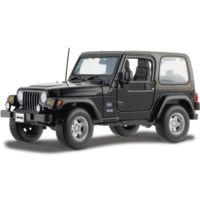 Maisto Wrangler Sahara Jeep 1:18 Model Araba S/E Siyah