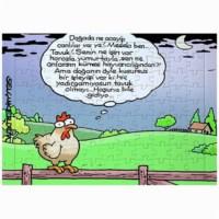 BuldumBuldum Selçuk Erdem 'Tavuk Olmak' Yapboz