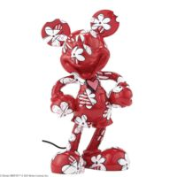 Enesco Disney Traditions Mickey Wrapped In Flowers