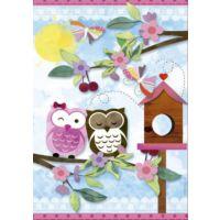 Educa 16739 500 Parça Valentine Art Scrap Puzzle
